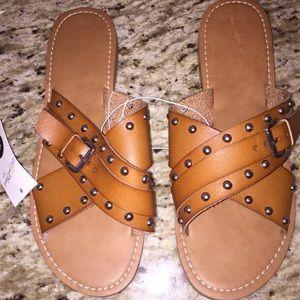 Universal Thread sandals vegan leather size 10, 11